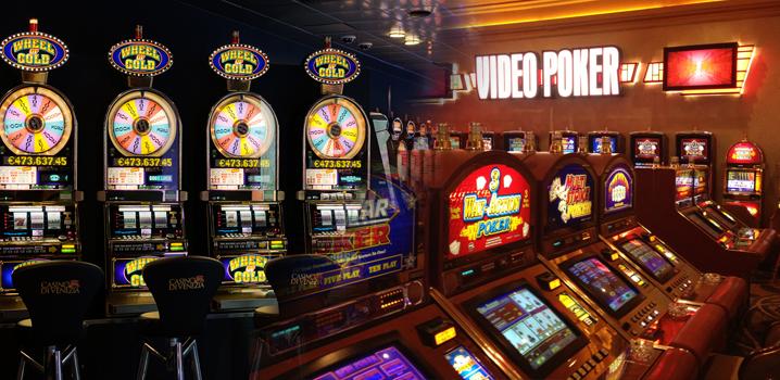 Machines à sous et vidéo poker