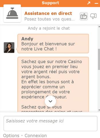 live chat crésus casino casino en ligne