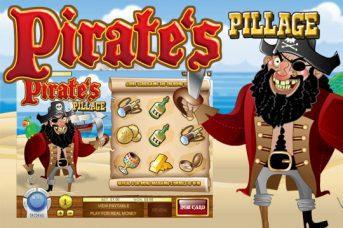 pirate pillage scratch card