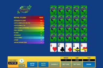 Habaero video poker
