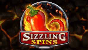 Sortie de la machine à sous Sizzling Spins de Play'n Go