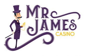 Logo de Mr James casino