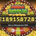 Mega Moolah, le jackpot record de 18 millions remporté par un joueur