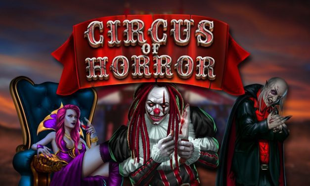 Promotion GameArt, Circus of horror, disponible sur Azur