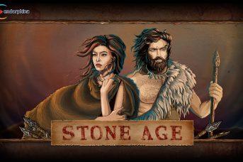 logo machine a sous stone age