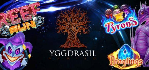 Le logiciel Yggdrasil désormais sur Azur Casino