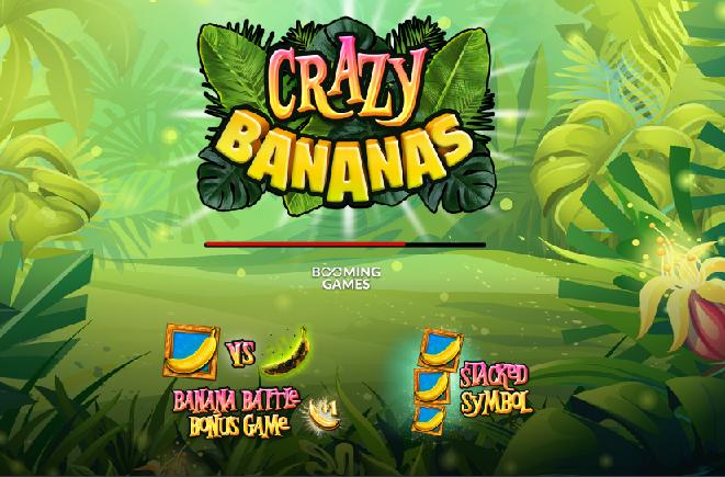 La nouvelle machine de Booming Games : Crazy Bananas