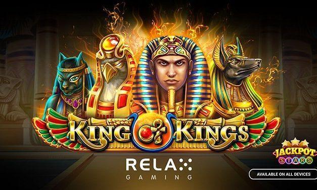 La nouvelle machine King of Kings de Relax Gaming