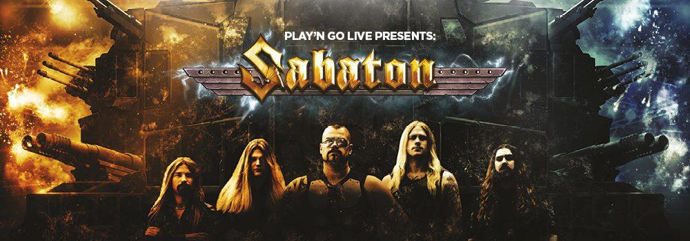 La dernière machine de play'nGo : Sabaton
