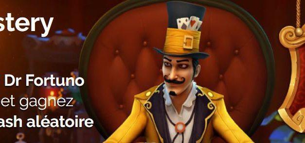 Azur casino : 20 000€ à gagner du 8 au 12 mai sur Dr Fortuno blackjack et Dr fortuno.