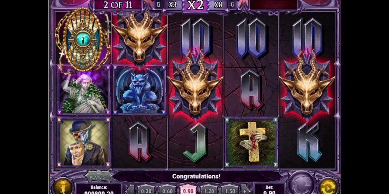 Une machine à sous Play'n Go Demon, diponible sur Azur