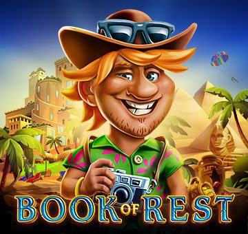 Book of Rest de Evoplay sur Banzai Slots