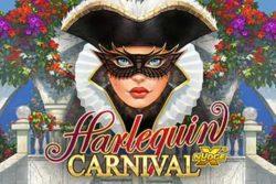 Harlequin Carnival : la machine à sous qui va vous faire gagner gros sur Banzai Slots