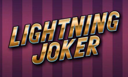 La machine à sous Lighting Joker de Yggrasil disponible le 10 juin sur les casinos français