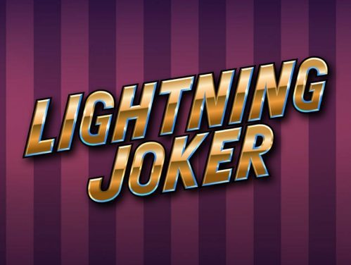 La machine à sous Lighting Joker de Yggrasil disponible le 10 juin sur les casinos français