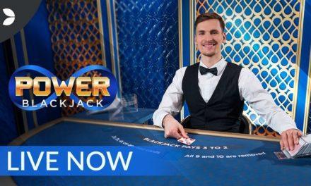 Power Blackjack, la nouvelle table de jeu en direct de Evolution Gaming