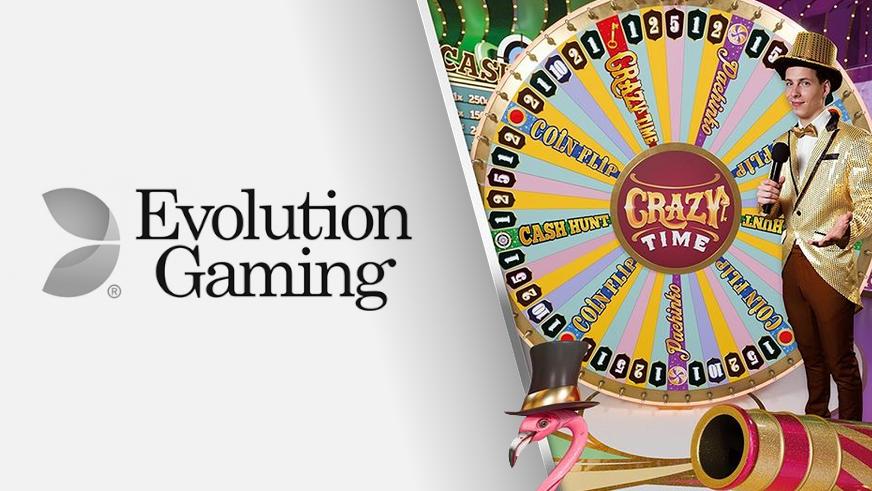 Crazy Time, le jeu live signé Evolution Gaming à essayer absolument