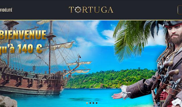 Le casino en ligne Tortuga s'invite à la fête