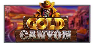 gold canyon logo machine à sous