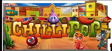 chili pop mahcine à sous logo