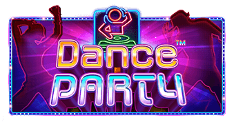 dance party logo machine à sous