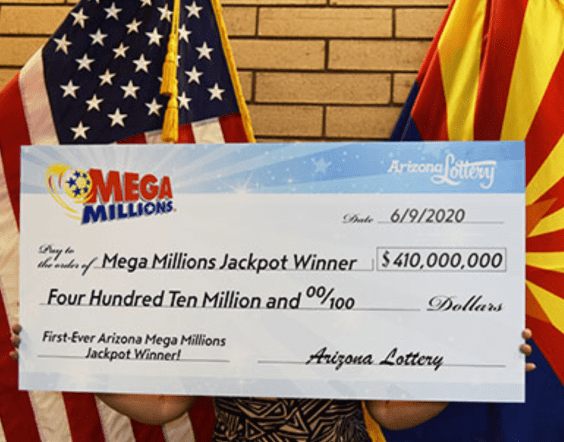 Un couple remporte 410 millions de dollars au Mega Millions en Arizona