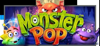 monster pop machine à sous logo