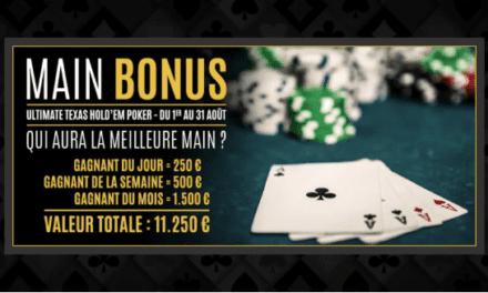 Le Paris Elysées distribue des lots aux meilleurs joueurs d'Ultimate Poker ce mois d'août