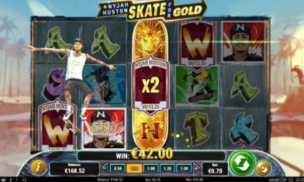 Play'n Go développe une machine à sous à l'effigie de Nyjah Huston, champion du monde de skateboard