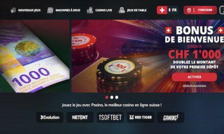 Pasino.ch, le casino en ligne du Groupe Partouche en Suisse opérationnel