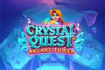 Crystal Quest Arcane Tower machine à sous thunderkick
