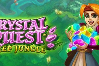 Crystal Quest Deep Jungle machine à sous