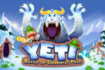 Yeti Battle of Greenhat Peak slot thunderkick