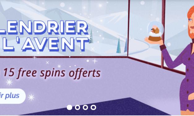 Recevez une surprise chaque jour et des tickets de loterie avec le Calendrier de l'Avent d'Azur Casino