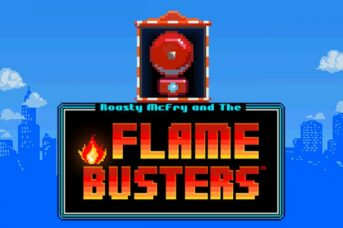 flame busters machine à sous thunderkick