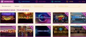 arlequin casino jeux