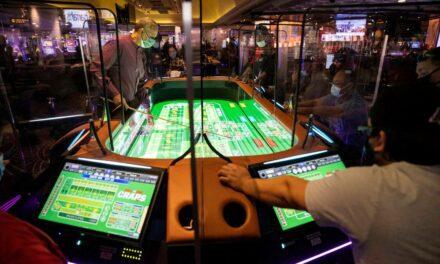 Le Harrah's de Las Vegas attire les joueurs avec une table de craps digitale