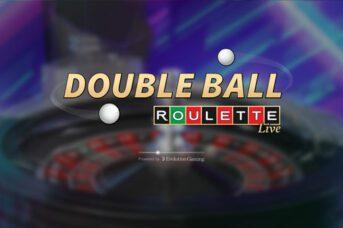 evolution gaming Double Ball Roulette logo