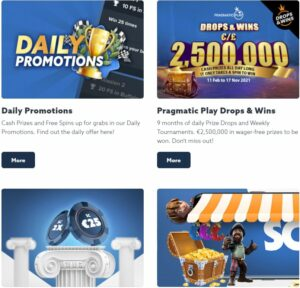casino Scatter promotions