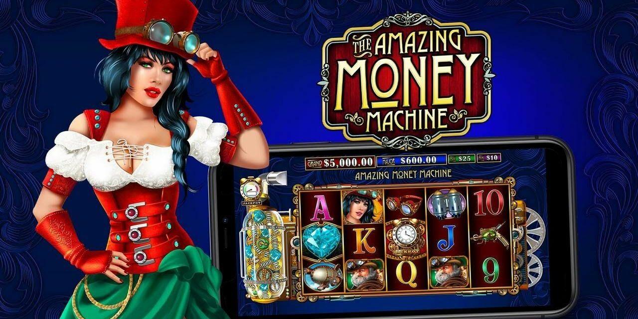 Préparez-vous à enchaîner les victoires sur The Amazing Money Machine de Pragmatic Play