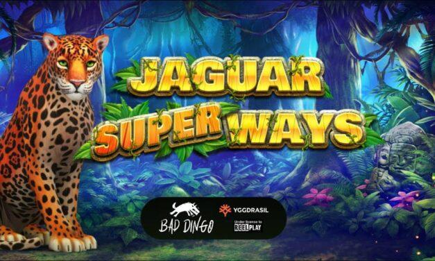 Plus de 380millions de façons de gagner sur Jaguar Superways d'Yggdrasil