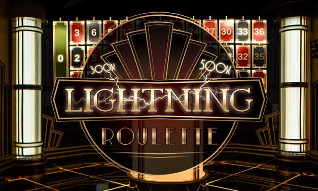 La Lightning Roulette d'Evolution sera disponible dans les casinos terrestres en 2022