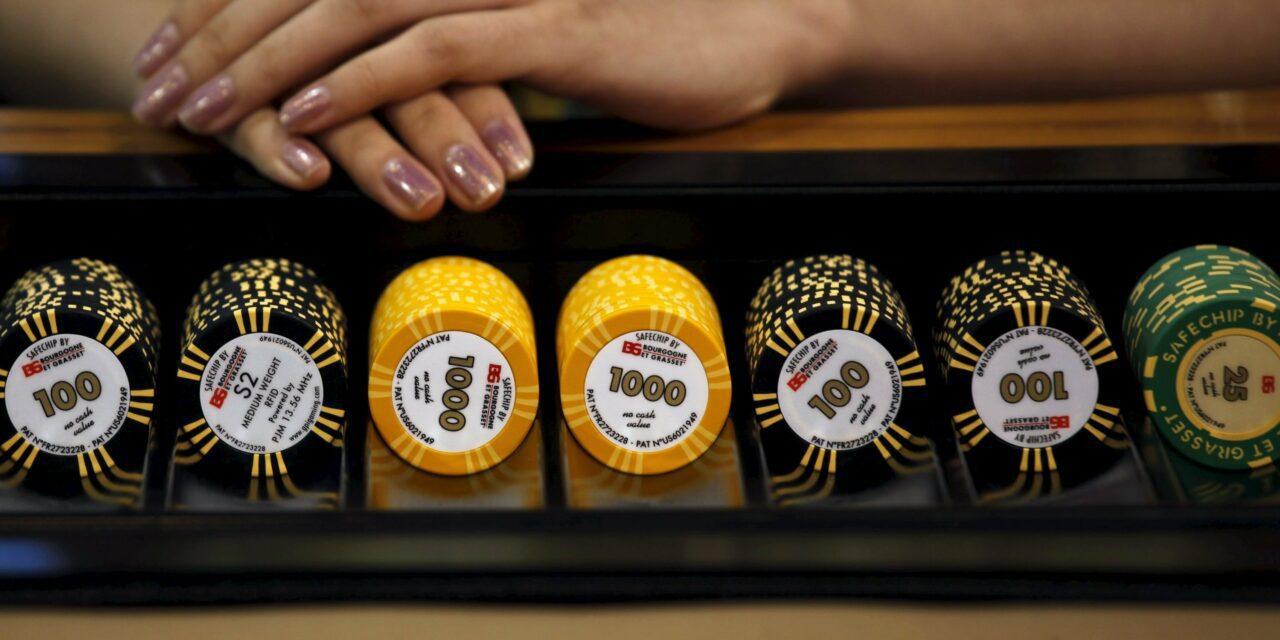L'usage de faux jetons augmente dans les casinos de Macao