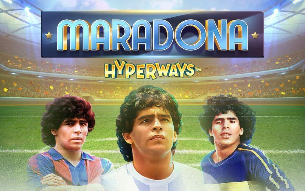 GameArt lance une machine à sous en hommage à Maradona