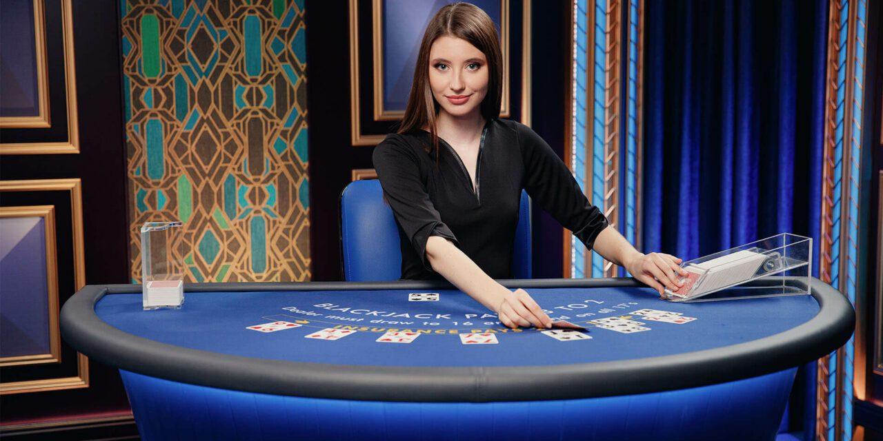 10 nouvelles tables de blackjack pour la gamme Azure de Pragmatic Play