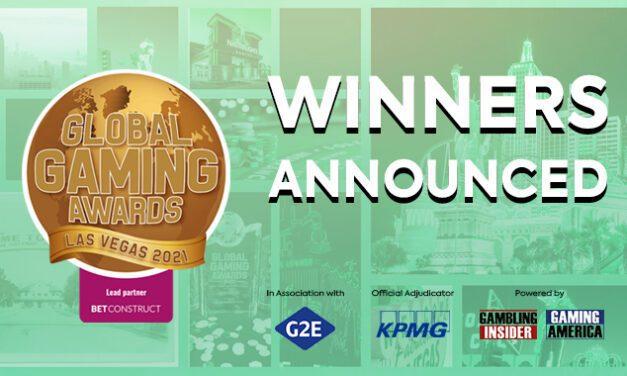 Les lauréats du Global Gaming Awards Las Vegas 2021